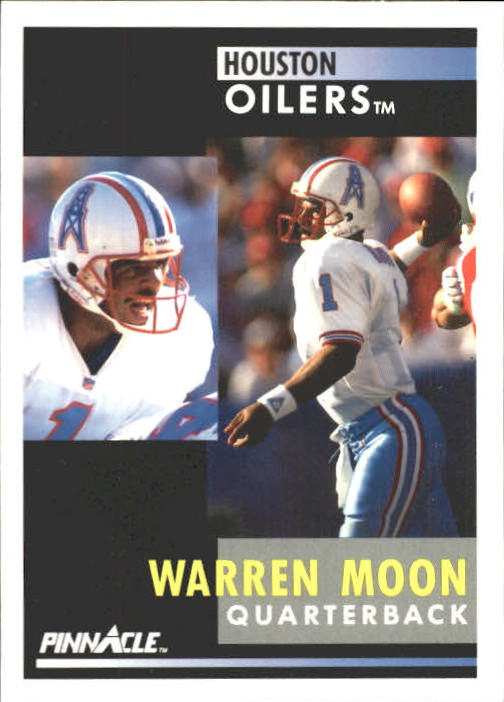 1991 Pinnacle #1 Warren Moon