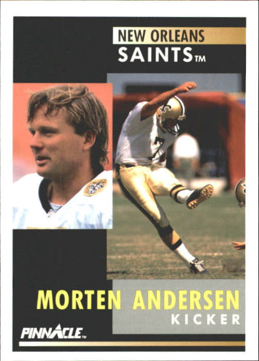 1991 Pinnacle #2 Morten Andersen
