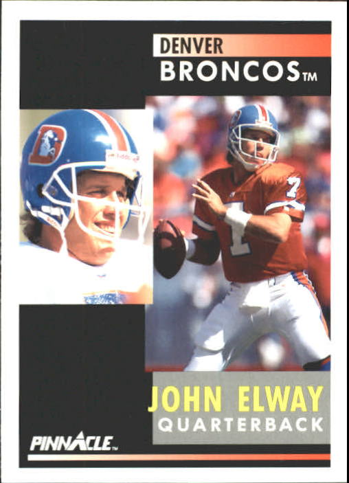 1991 Pinnacle #7 John Elway