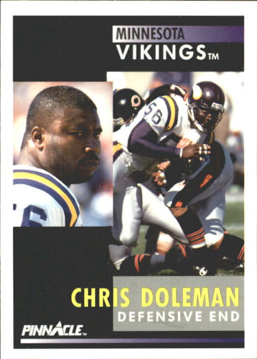 1991 Pinnacle #9 Chris Doleman