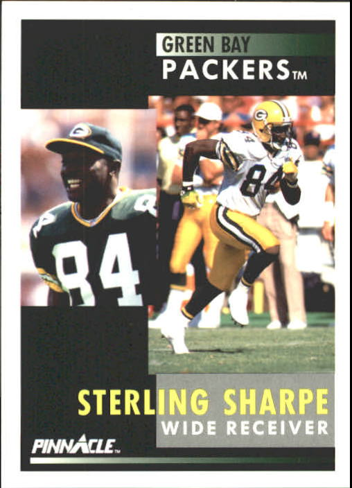 1991 Pinnacle #11 Sterling Sharpe