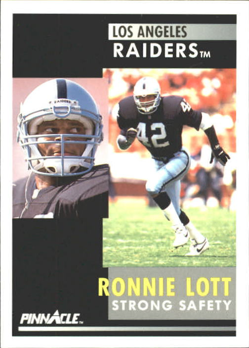 1991 Pinnacle #13 Ronnie Lott