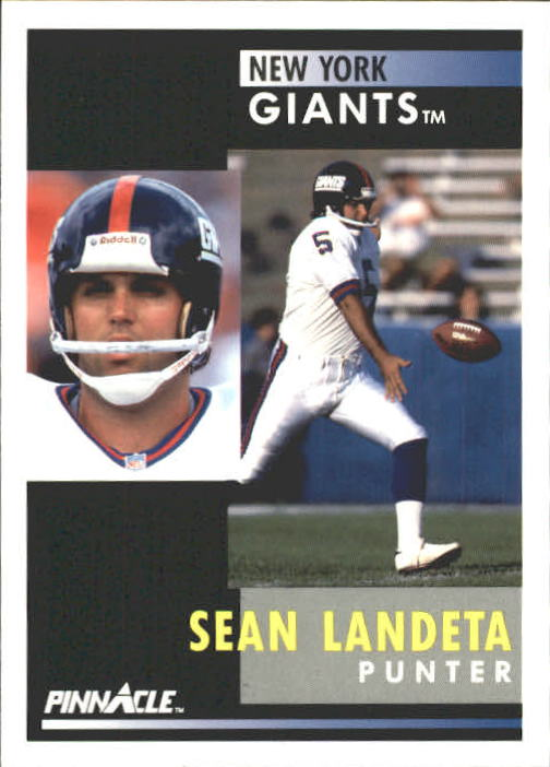 1991 Pinnacle #14 Sean Landeta