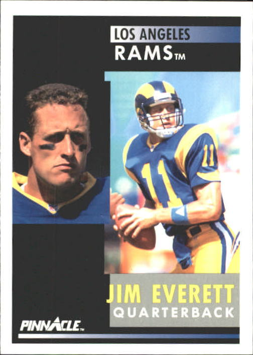 1991 Pinnacle #15 Jim Everett