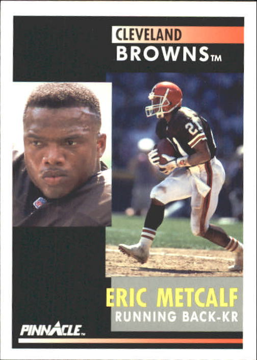 1991 Pinnacle #19 Eric Metcalf