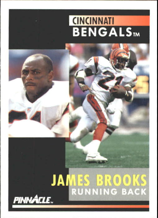 1991 Pinnacle #21 James Brooks