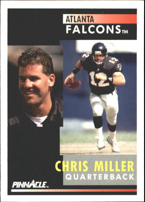 1991 Pinnacle #24 Chris Miller