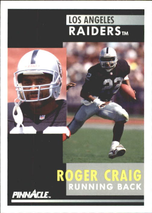 1991 Pinnacle #25 Roger Craig