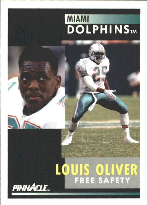 1991 Pinnacle #26 Louis Oliver