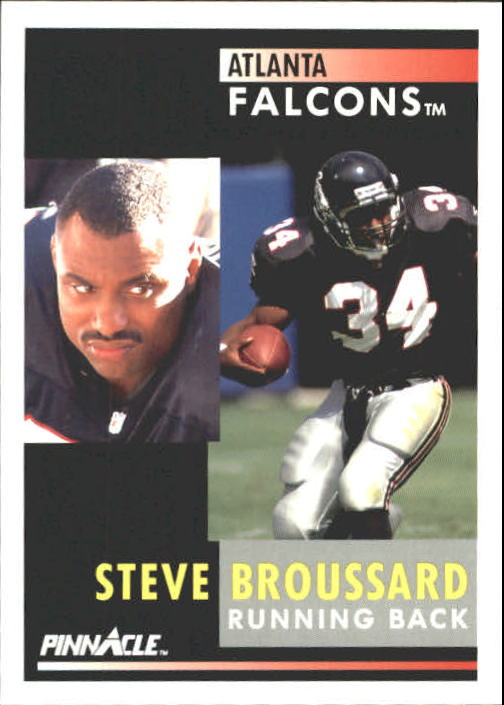 1991 Pinnacle #31 Steve Broussard