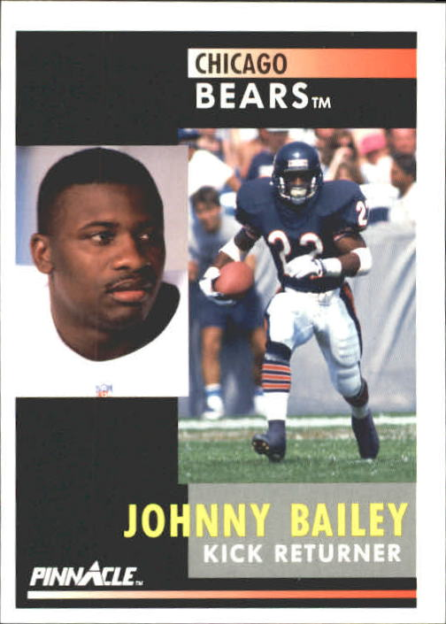 1991 Pinnacle #37 Johnny Bailey