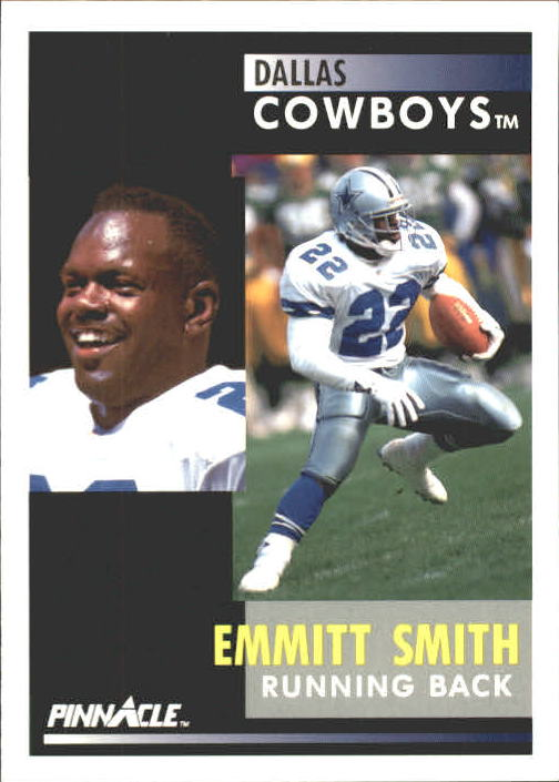 1991 Pinnacle #42 Emmitt Smith
