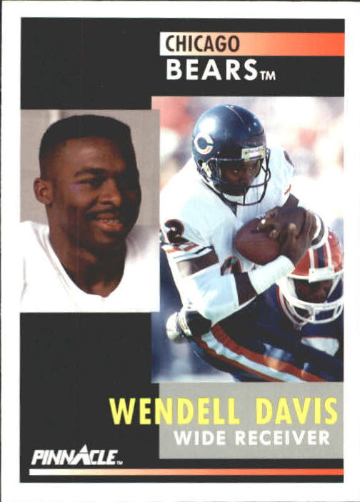 1991 Pinnacle #43 Wendell Davis