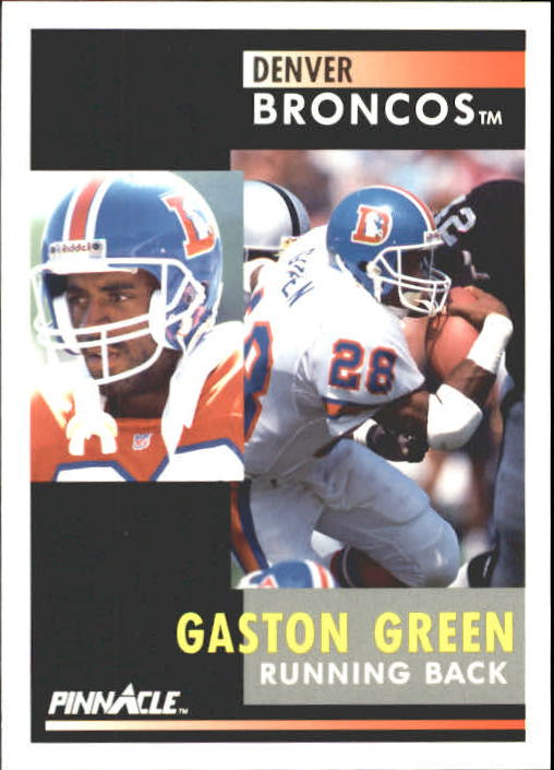 1991 Pinnacle #48 Gaston Green