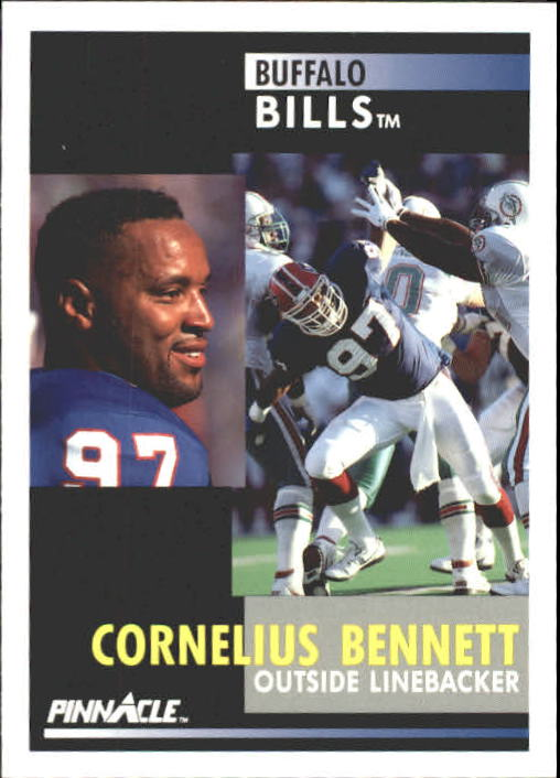 1991 Pinnacle #56 Cornelius Bennett