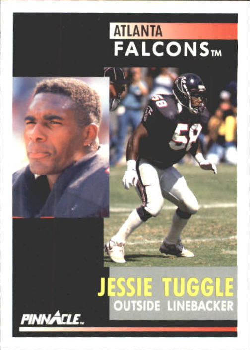 1991 Pinnacle #59 Jessie Tuggle
