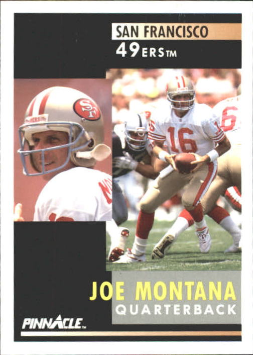 1991 Pinnacle #66 Joe Montana