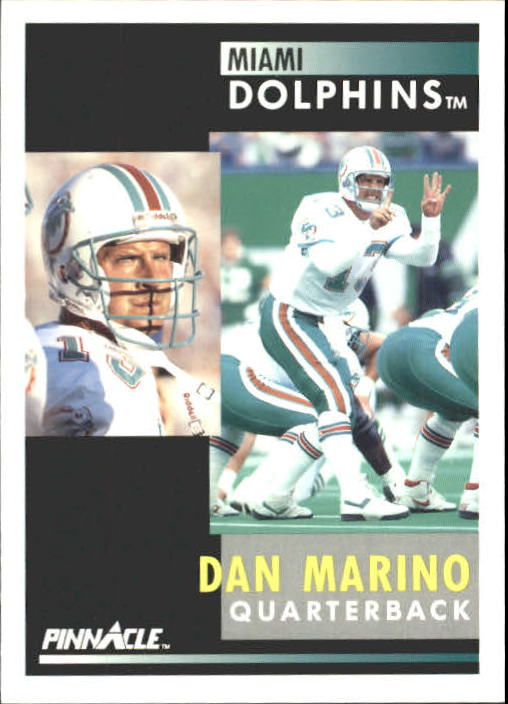 1991 Pinnacle #70 Dan Marino