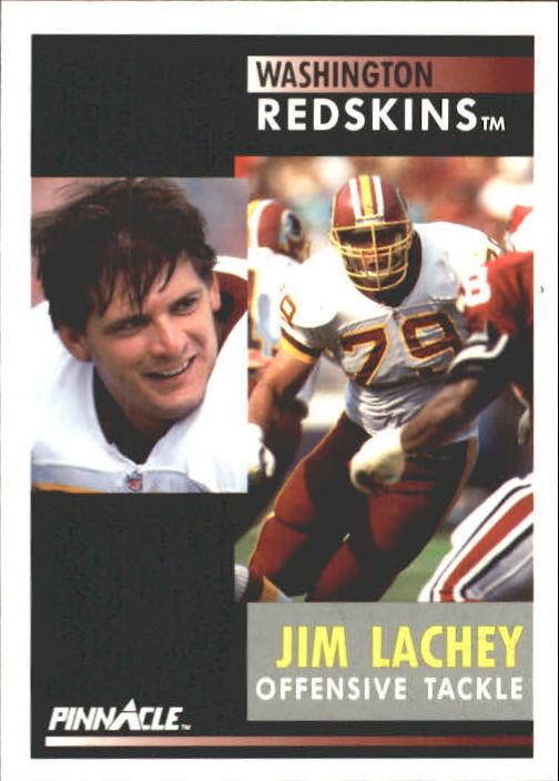 1991 Pinnacle #71 Jim Lachey