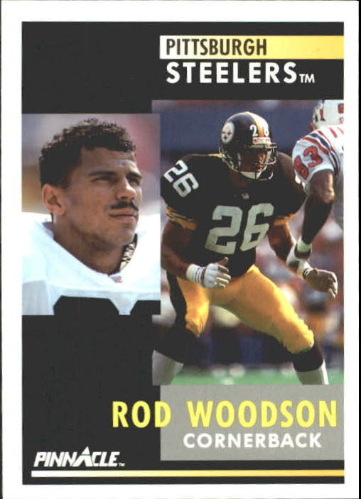 1991 Pinnacle #72 Rod Woodson
