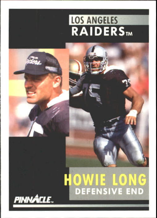 1991 Pinnacle #75 Howie Long
