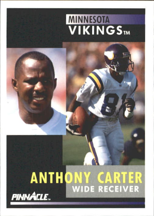 1991 Pinnacle #80 Anthony Carter