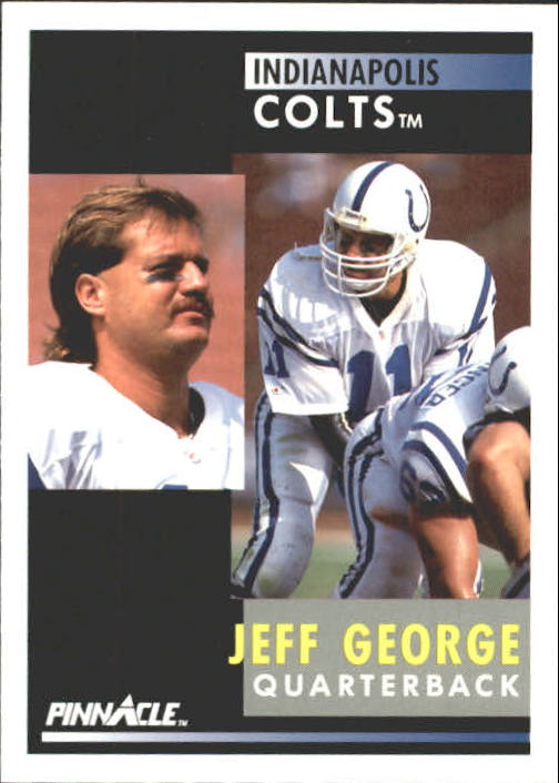 1991 Pinnacle #92 Jeff George