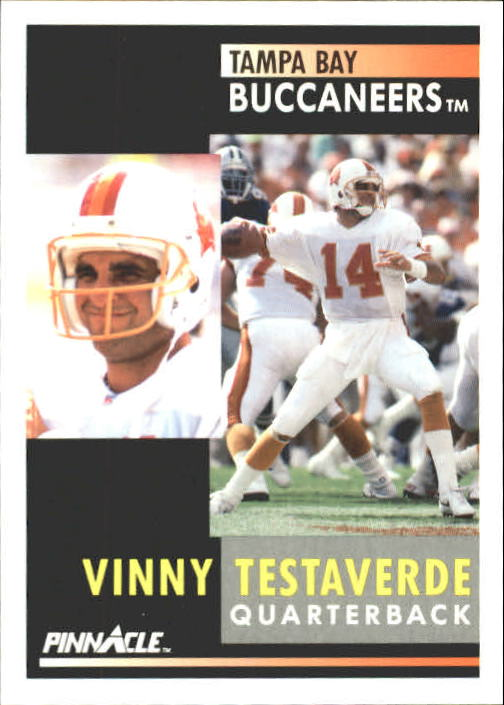 1991 Pinnacle #93 Vinny Testaverde