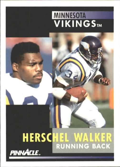 1991 Pinnacle #97 Herschel Walker