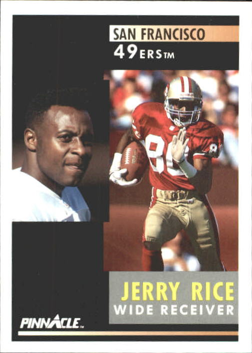 1991 Pinnacle #103 Jerry Rice