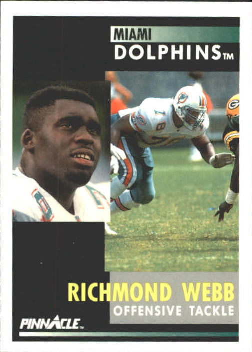 1991 Pinnacle #118 Richmond Webb