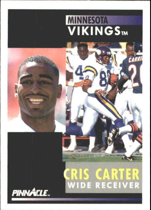 1991 Pinnacle #125 Cris Carter