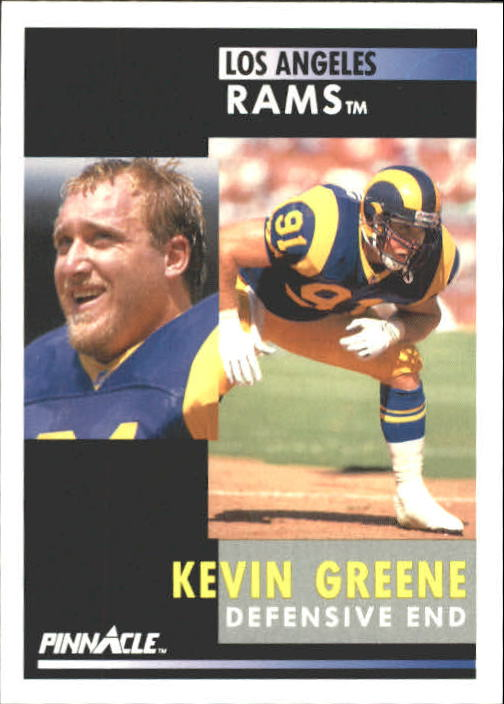 1991 Pinnacle #128 Kevin Greene