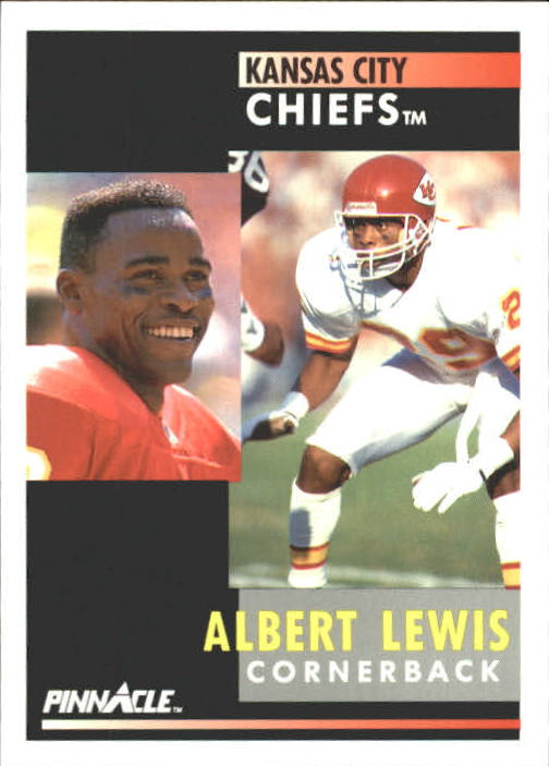 1991 Pinnacle #131 Albert Lewis