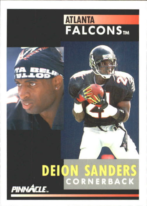 1991 Pinnacle #147 Deion Sanders
