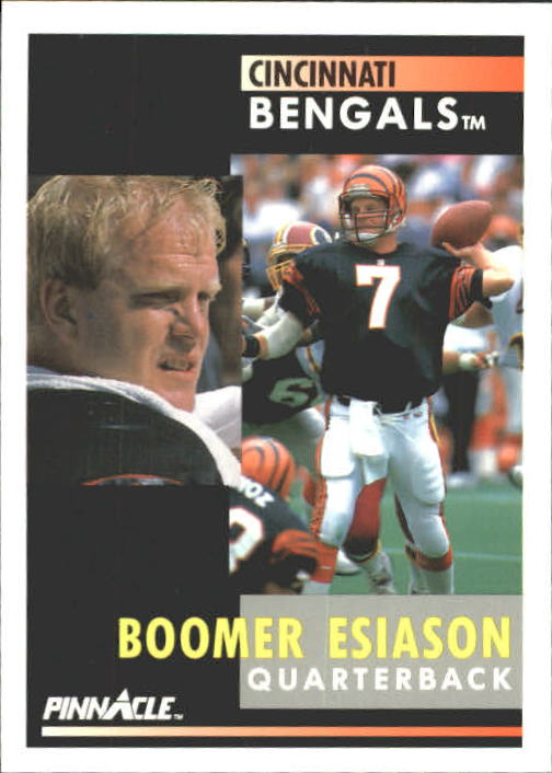 1991 Pinnacle #152 Boomer Esiason