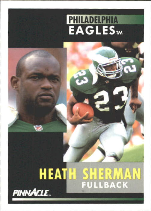 1991 Pinnacle #164 Heath Sherman