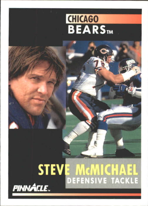 1991 Pinnacle #170 Steve McMichael