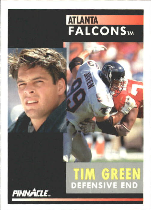 1991 Pinnacle #175 Tim Green