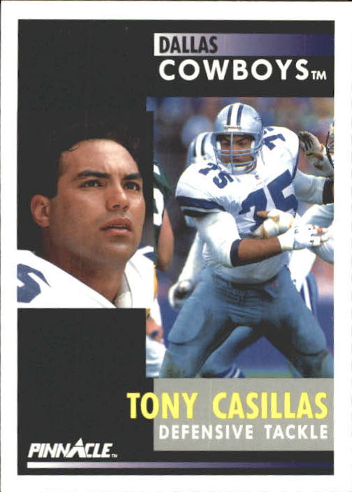 1991 Pinnacle #176 Tony Casillas