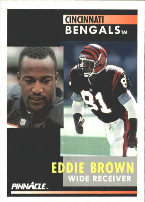 1991 Pinnacle #180 Eddie Brown
