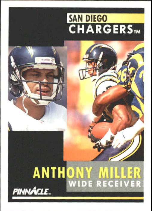 1991 Pinnacle #184 Anthony Miller
