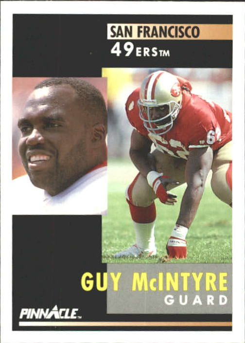 1991 Pinnacle #186 Guy McIntyre