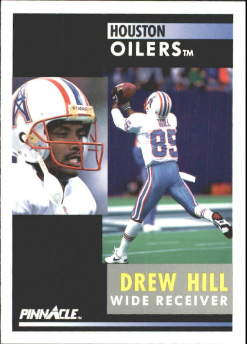1991 Pinnacle #189 Drew Hill