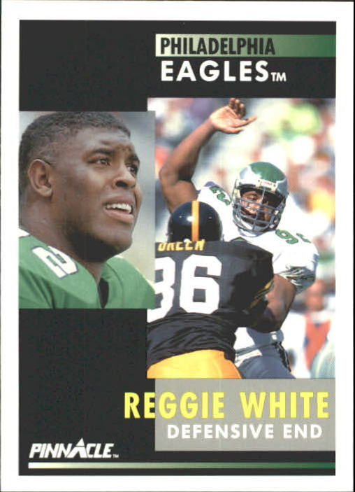 1991 Pinnacle #190 Reggie White