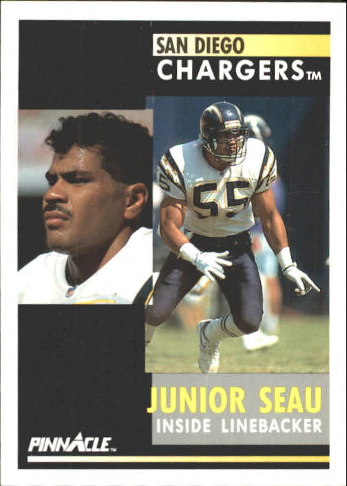 1991 Pinnacle #195 Junior Seau