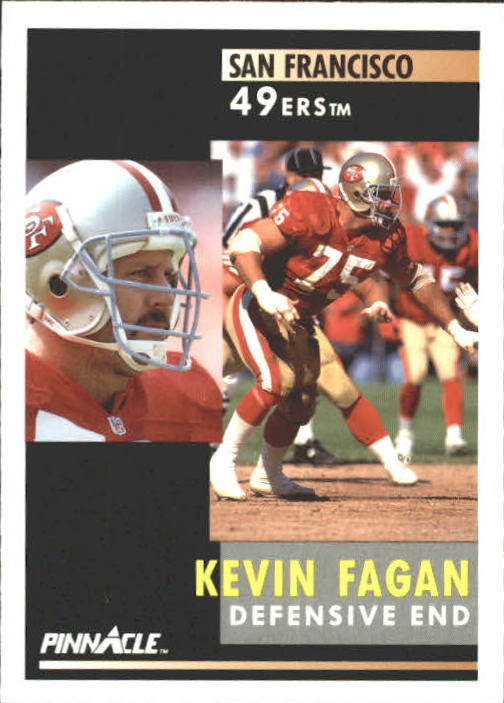 1991 Pinnacle #220 Kevin Fagan
