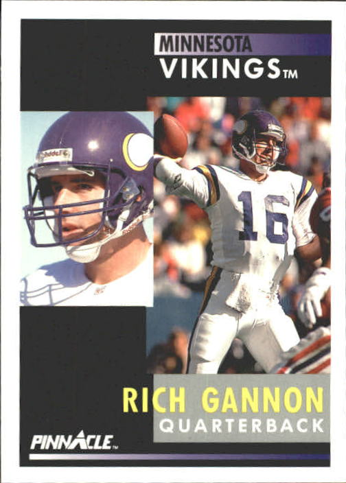 1991 Pinnacle #225 Rich Gannon