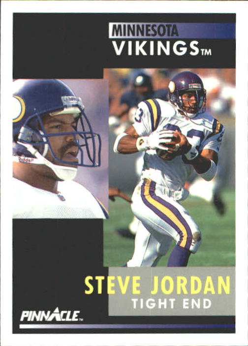 1991 Pinnacle #227 Steve Jordan