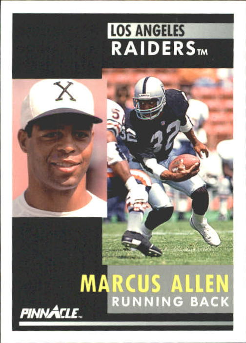 1991 Pinnacle #232 Marcus Allen